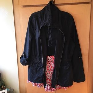 Dress Barn anorak Jacket, size XL